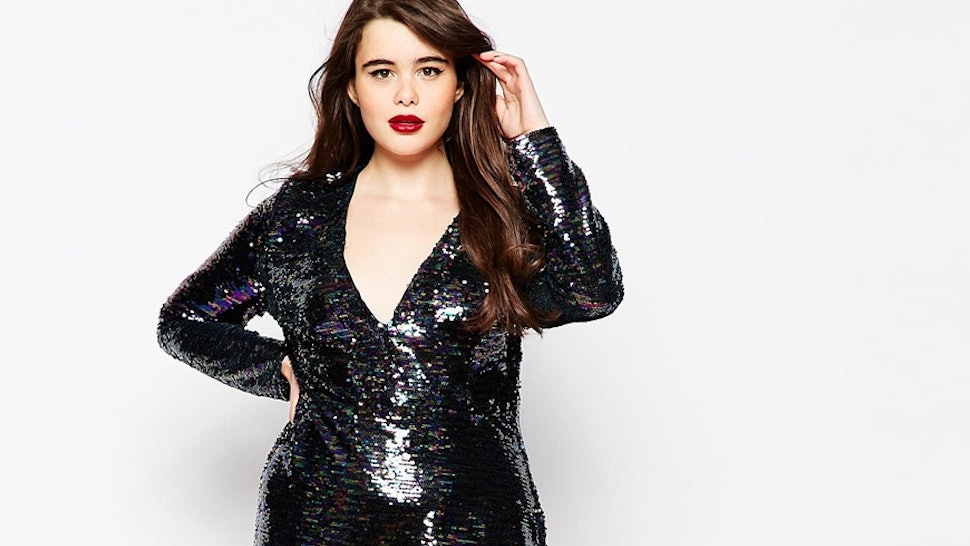 bf82c1e57cd 17 Sequin Plus Size Fashions To Get You Through Every Bedazzled Holiday  Occasion — PHOTOS