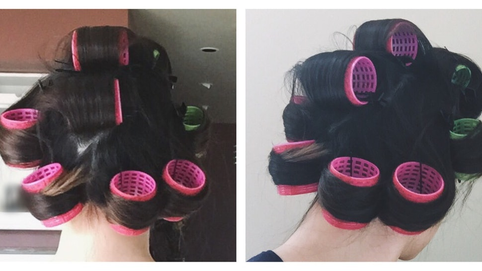How To Use Velcro Hair Rollers — Because These Old School