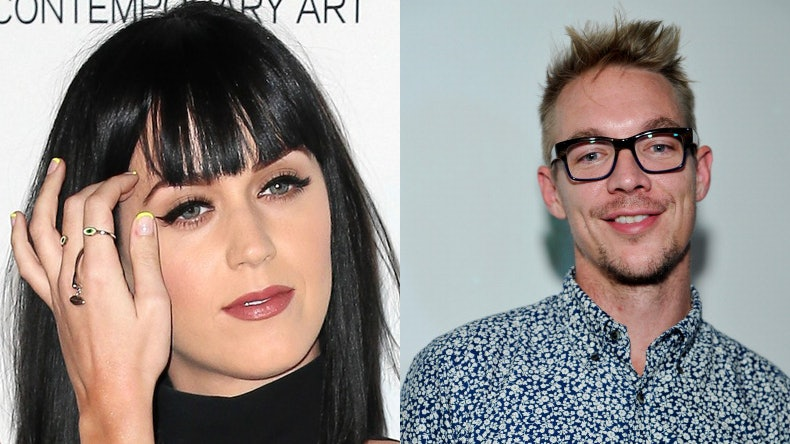 Katy perry and diplo dating