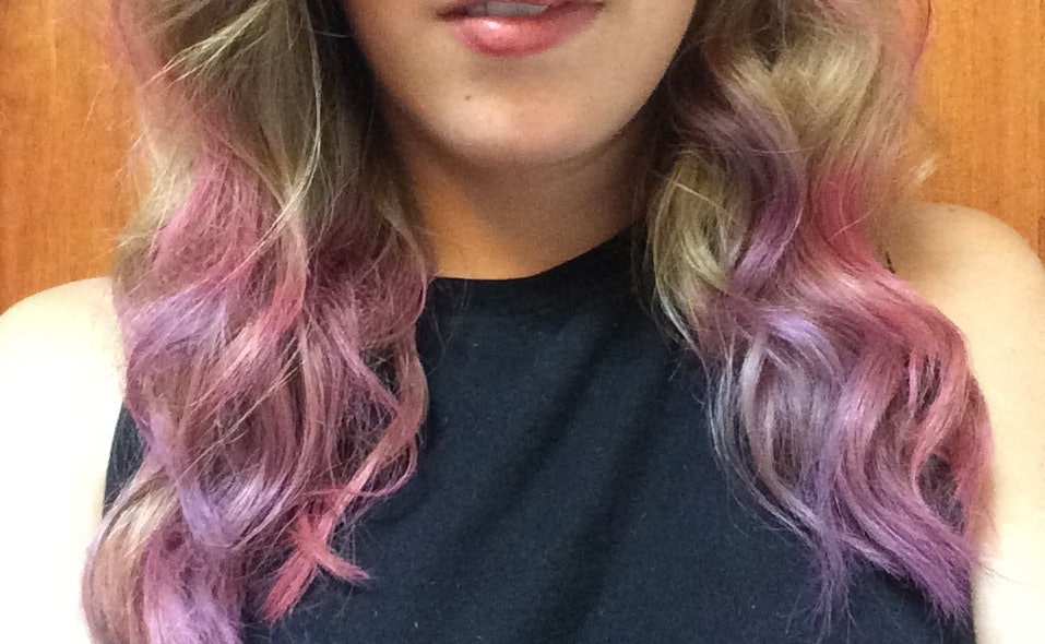 Hair Chalking With Loreal Professionnel Hairchalk Because Cotton