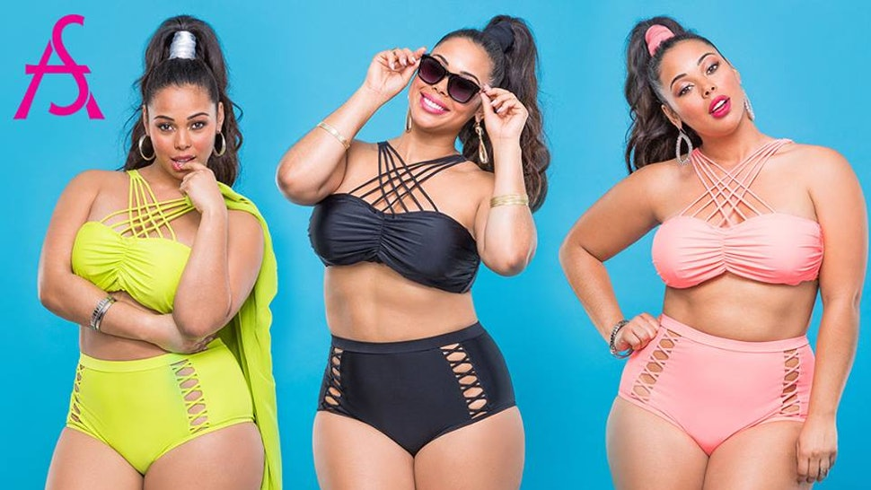 e27cc795bbf88 17 Plus Size Swimwear Styles To Consider Rocking Unapologetically This  Season — PHOTOS