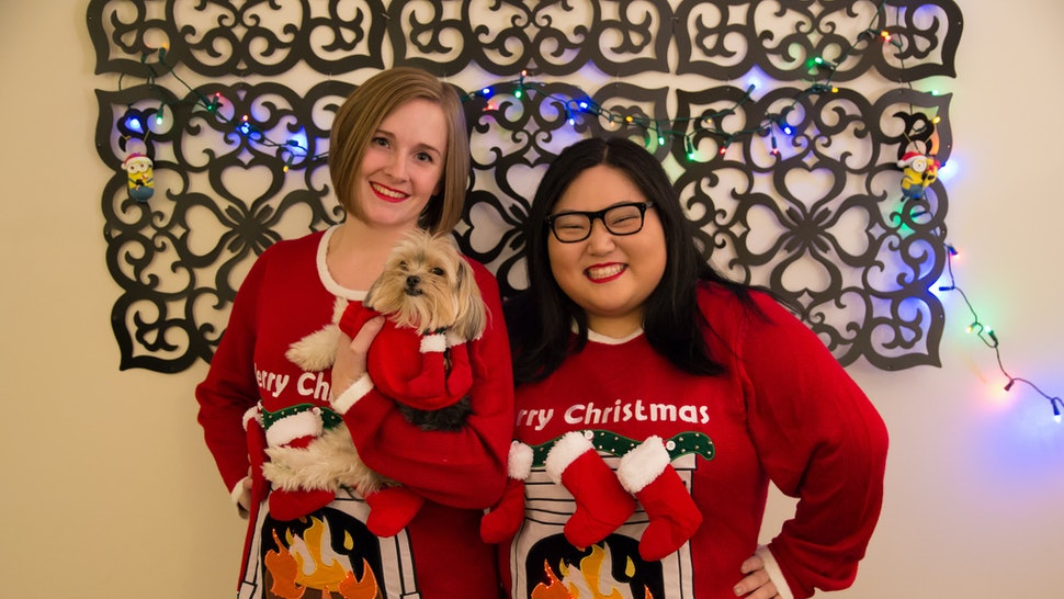 Ugly Christmas Sweaters For You And Your Dog To Match Because You