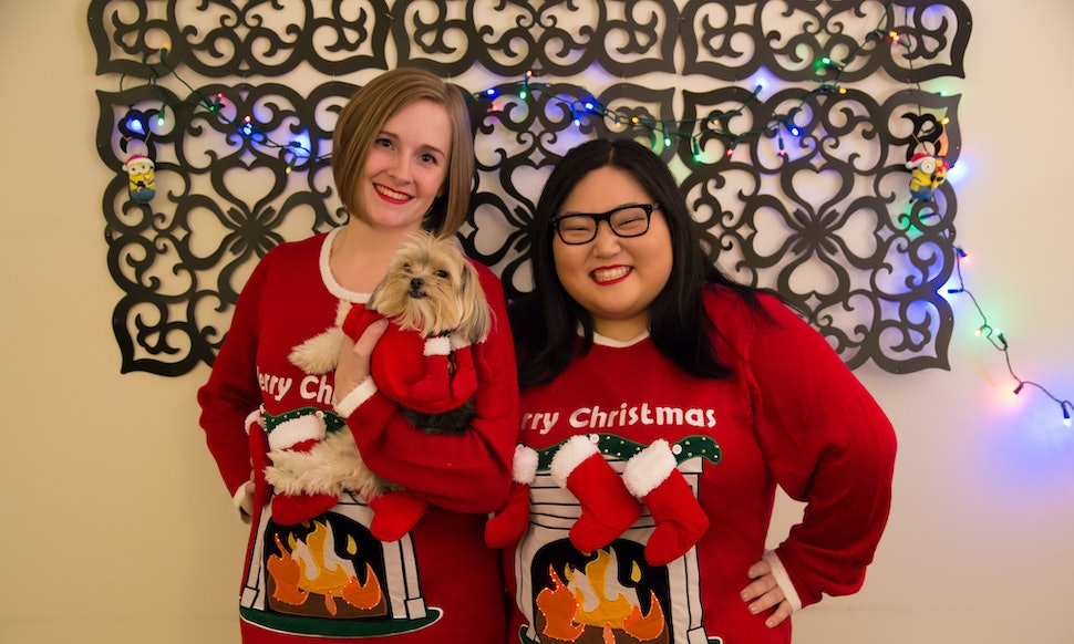 ugly christmas sweaters for you and your dog to match because you know you want to
