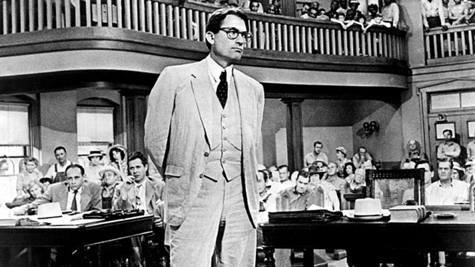 who is on trial in to kill a mockingbird