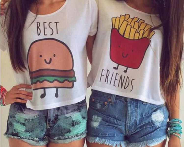 19 matching best friend shirts accessories that aren t cheesy at all