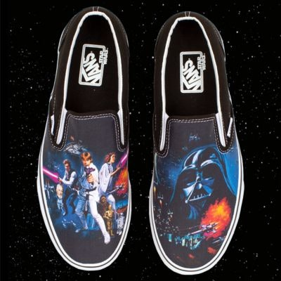 0fa6d4407e Vans x  Star Wars  is The Geeky Shoe Collection of Your Dreams