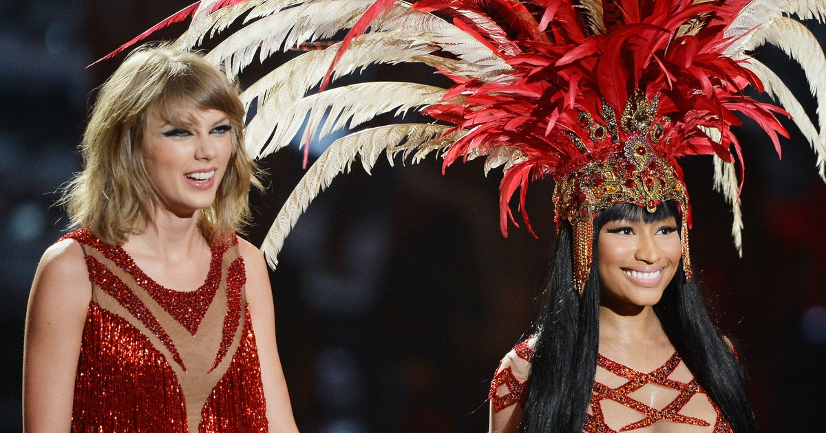 Taylor Swift, Nicki Minaj Bury the Hatchet, Perform