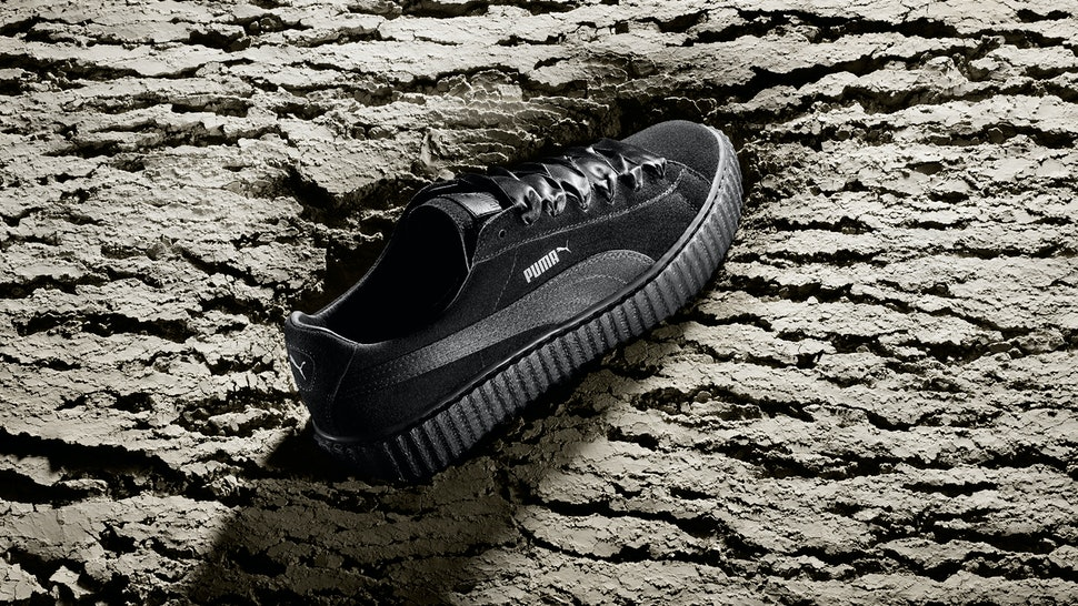 553a65b5ae01 Are The Rihanna Puma Creepers Worth It  These Kicks Are So High Fashion —  PHOTOS