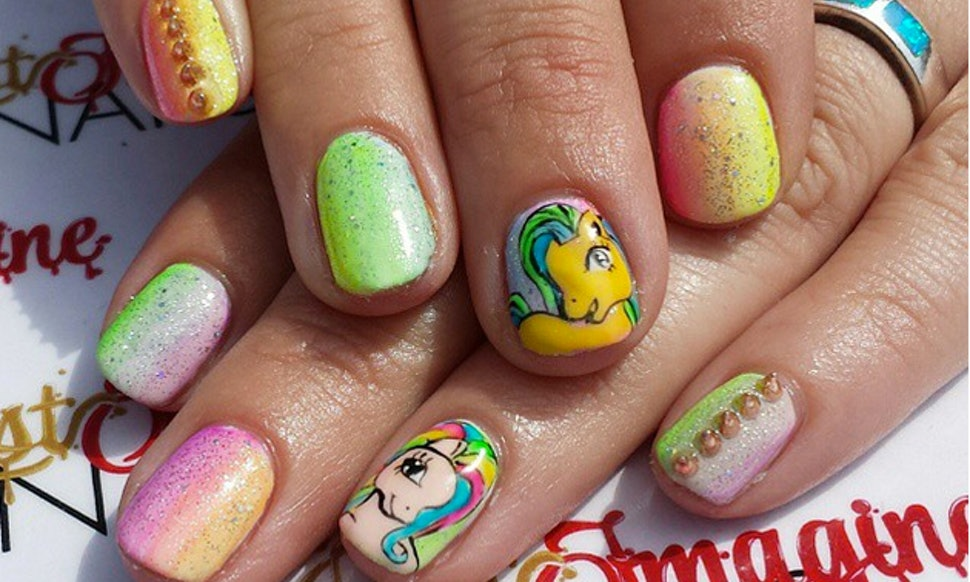 7 \'My Little Pony\' Inspired Nails From Instagram To Fill Your Heart ...