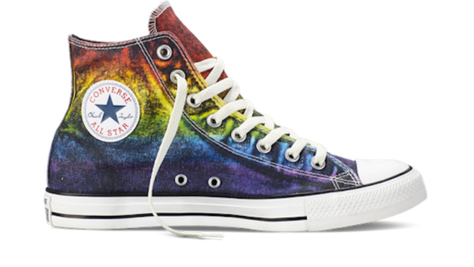 a4e4a09a872b The Converse Pride Collection Is Supporting LGBTQ Rights Via Classic Chuck  Taylor s With A Twist