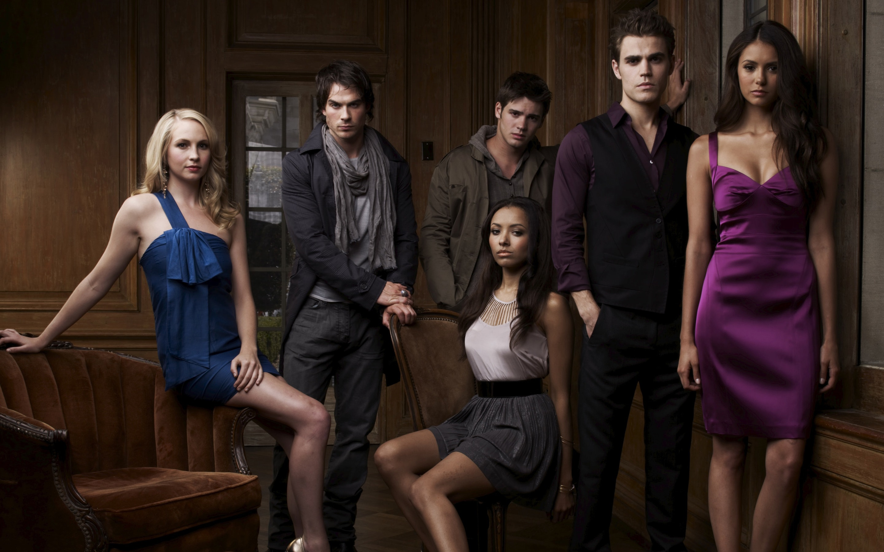 The Vampire Diaries: the actors of one of the best occult TV series of our time 48