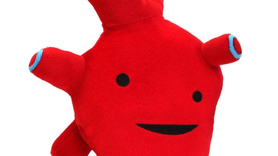 Cuddly Stuffed Organs Of