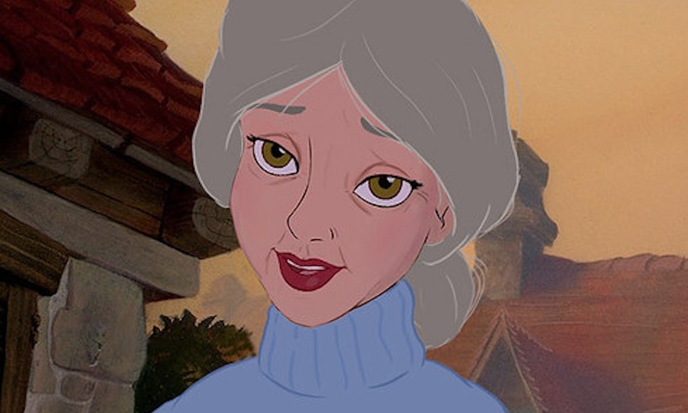 BuzzFeed's Disney Princesses In Old Age Will Make You Want ...