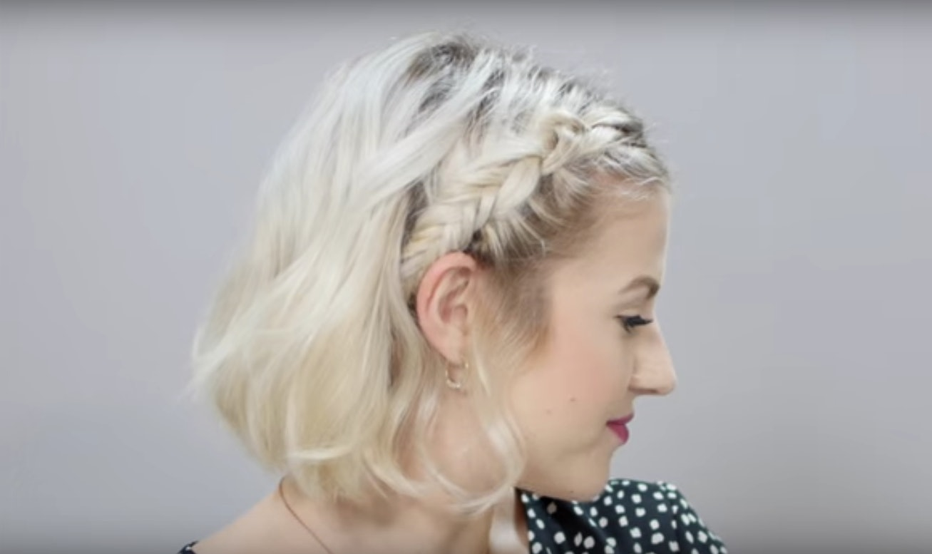 These 7 Easy Braid Tutorials For Short Hair Will Totally