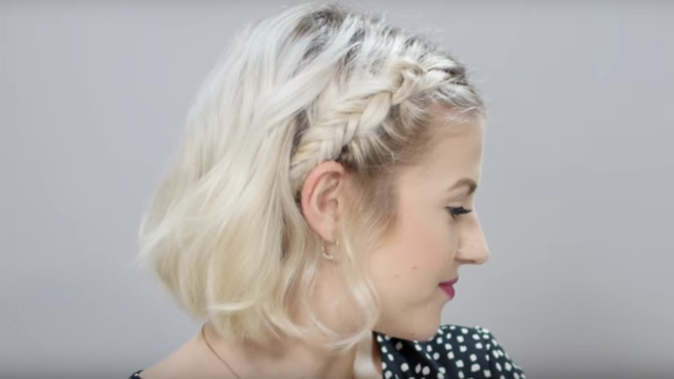 These 7 Easy Braid Tutorials For Short Hair Will Totally Transform