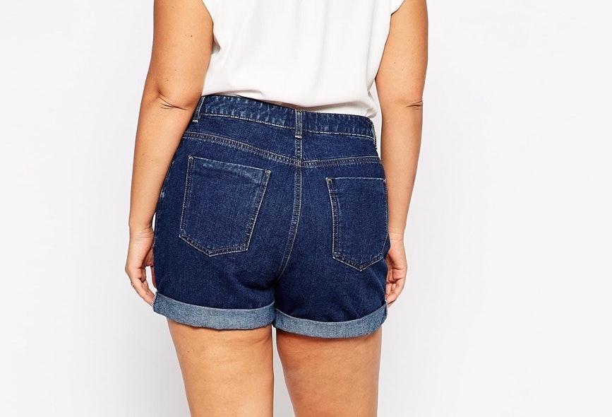 Spandex big ass booty shorts
