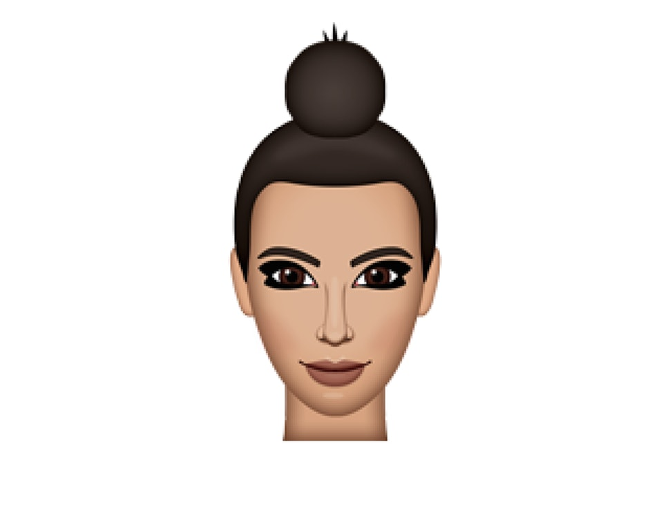 Kim Kardashian S Kimoji Hairstyles Are Totally Inspired By