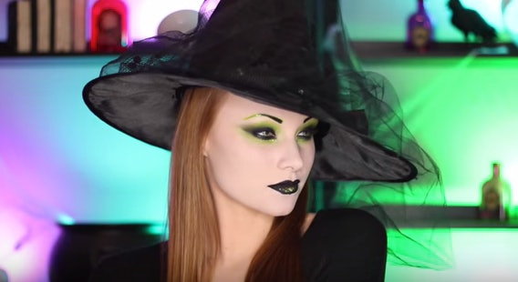 Good 7 Last Minute Witch Makeup Tutorials For Halloween That You ...
