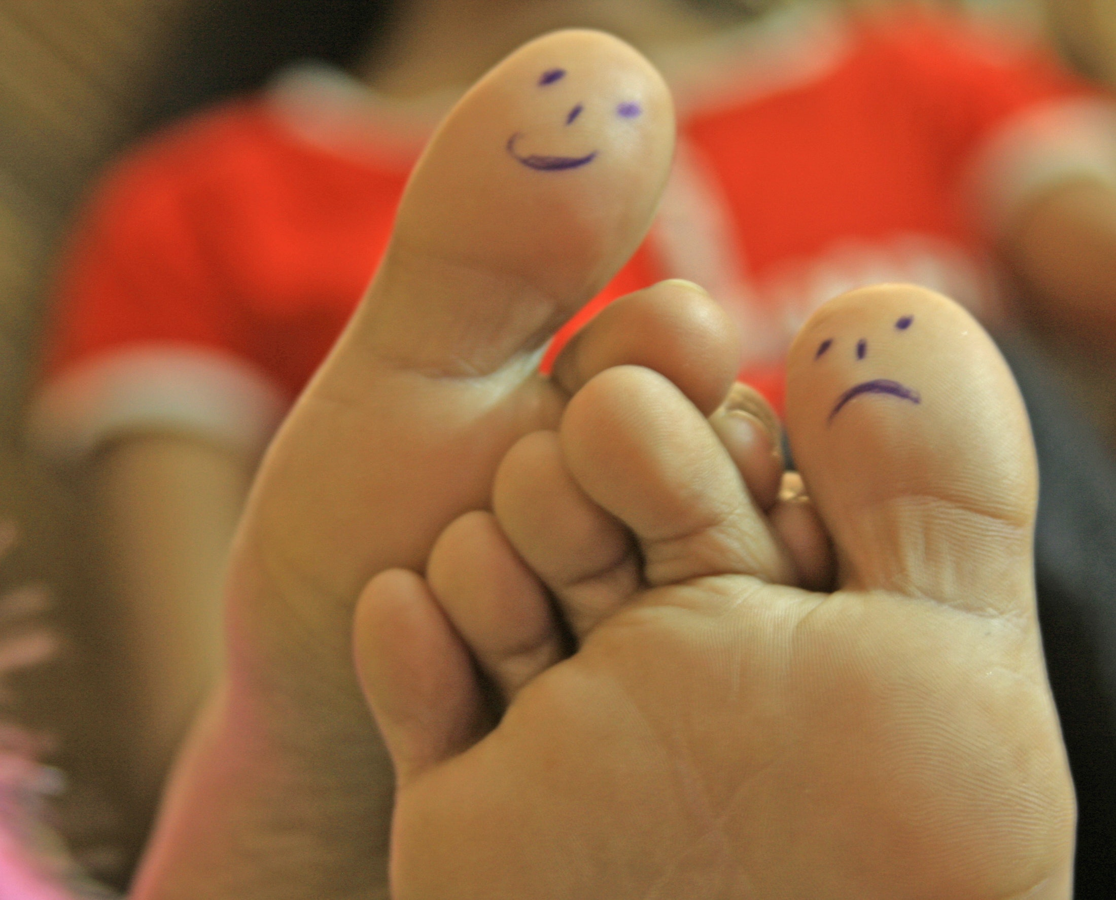 Image result for foot rub gross