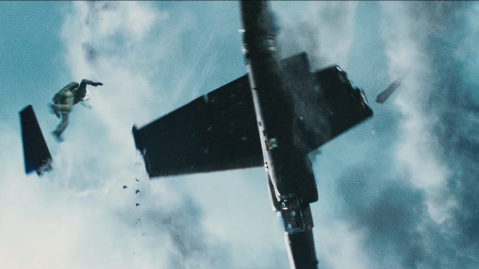 Bridge Of Spies' Plane Crash Scene Is The Craziest Part Of