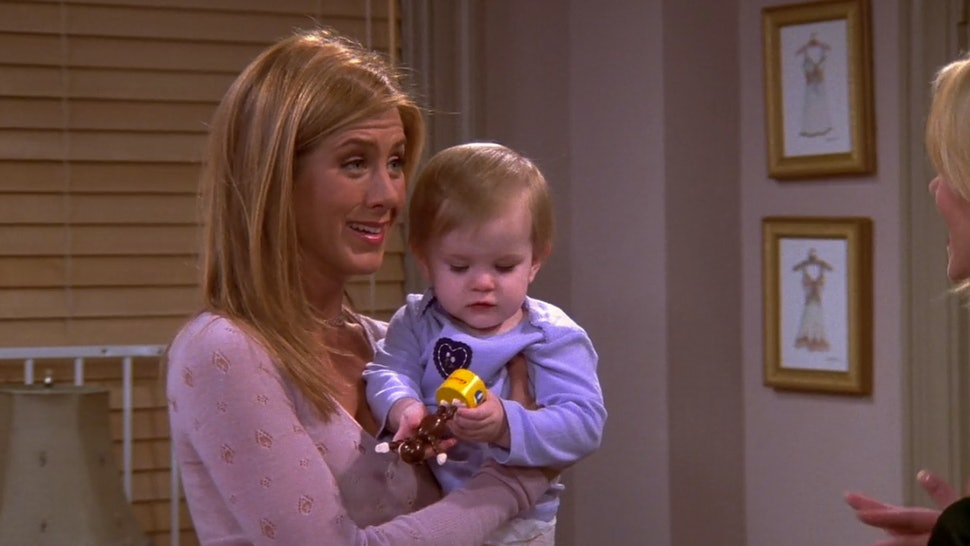 The Twins Who Played Baby Emma On 'Friends' Share On-Set