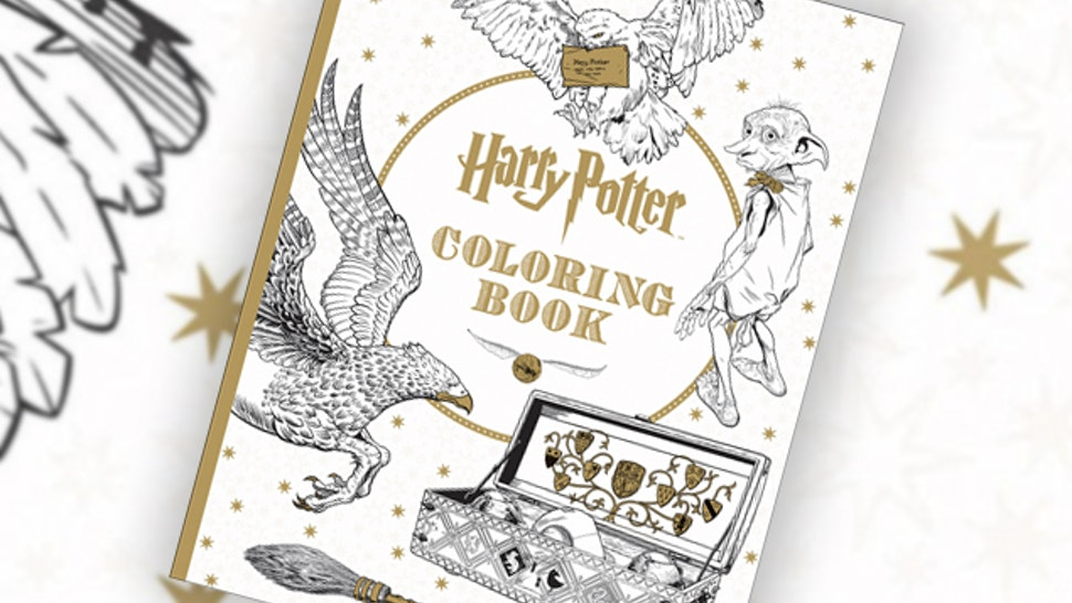 This \'Harry Potter\' Coloring Book For Grownups Is Every Bit As ...