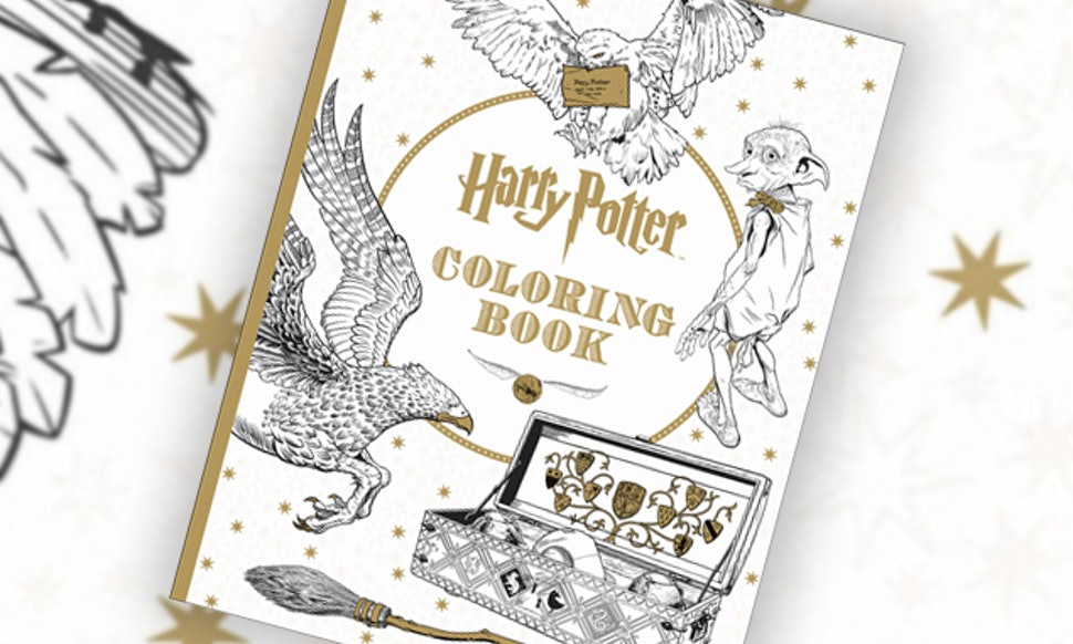 This Harry Potter Coloring Book For Grownups Is Every Bit As