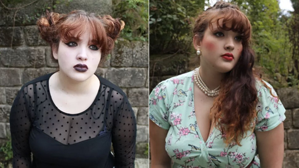 I Dressed As A Goth A Party Girl And A Manic Pixie Dream Girl