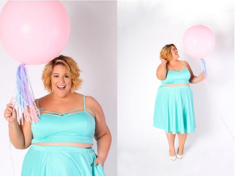 Plus Size Pastel Dresses