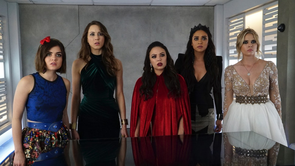 8a92d187ee8 Which Fairytale Characters Are The  Pretty Little Liars  At Prom  Charles   Identity Isn t The Only Mystery That Needs Solving
