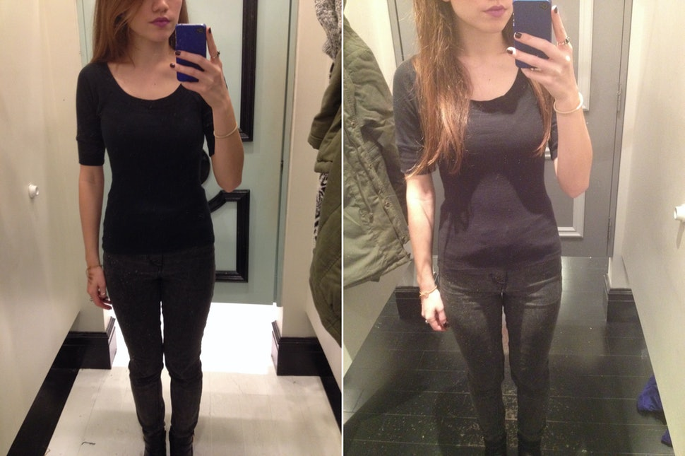 Are Skinny Mirrors Being Used In Popular Retailers Dressing Rooms