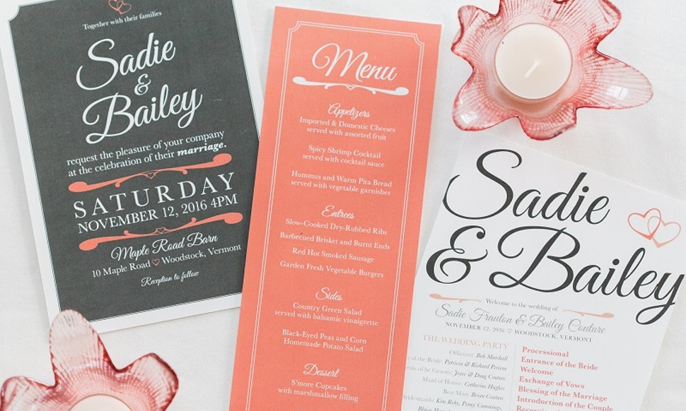 Ways To Save Money On Wedding Invitations: 6 Wedding Invitation & Stationery Hacks That Will Save You