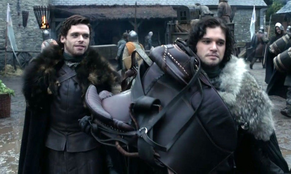 Image result for jon snow in winterfell