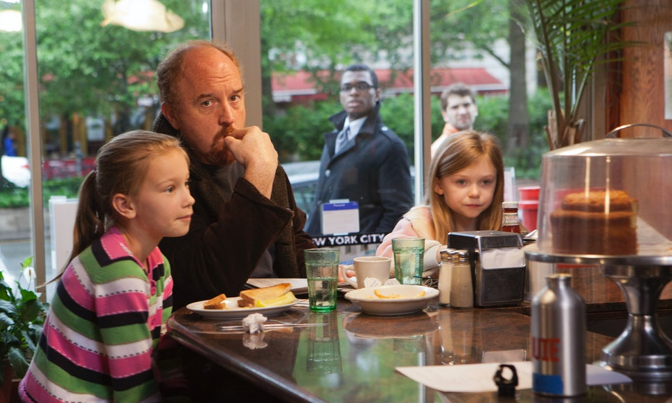 Are Those Louis Ck S Real Kids In Louie