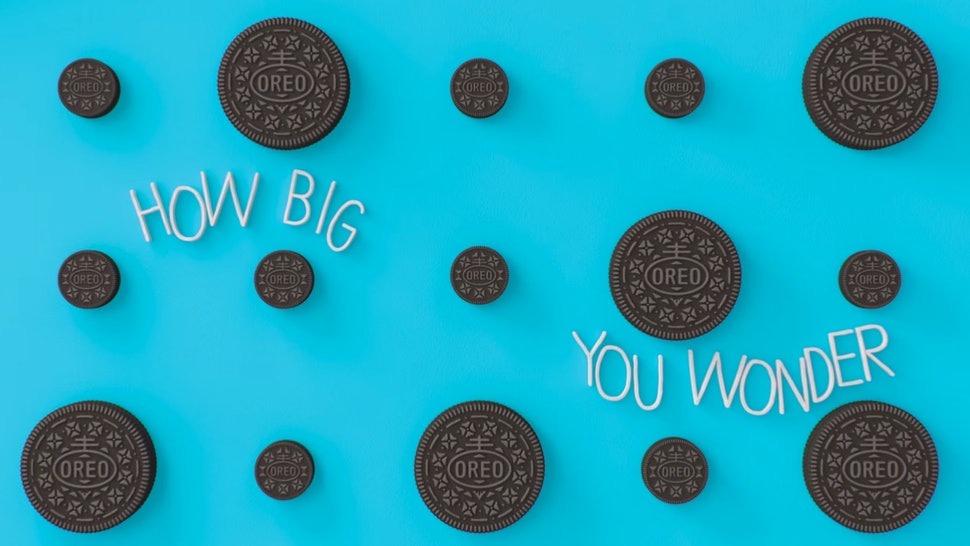What Is The Song In Oreo Mini Commercial Wonder No More