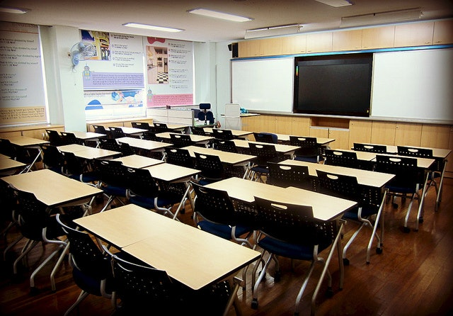 Sex classroom table