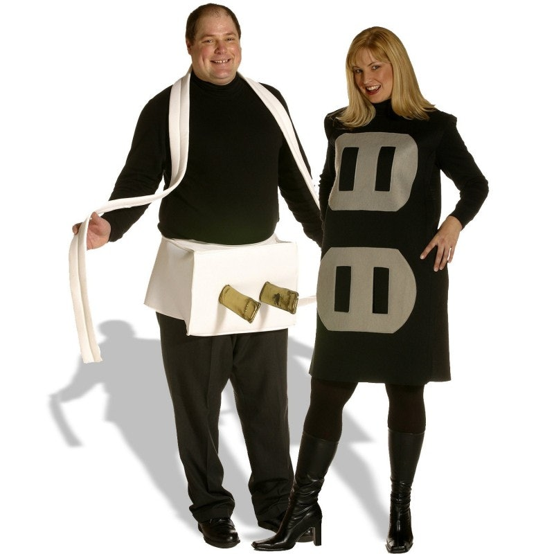 sc 1 st  Bustle & 16 Couples Halloween Costumes: Beyond Adam and Eve