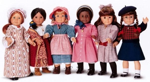 Retired American Girl Doll Felicity Travel Stripe Dress ONLY