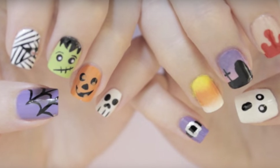 10 Halloween Nail Art Tutorials Because Its Not Just About The Costume