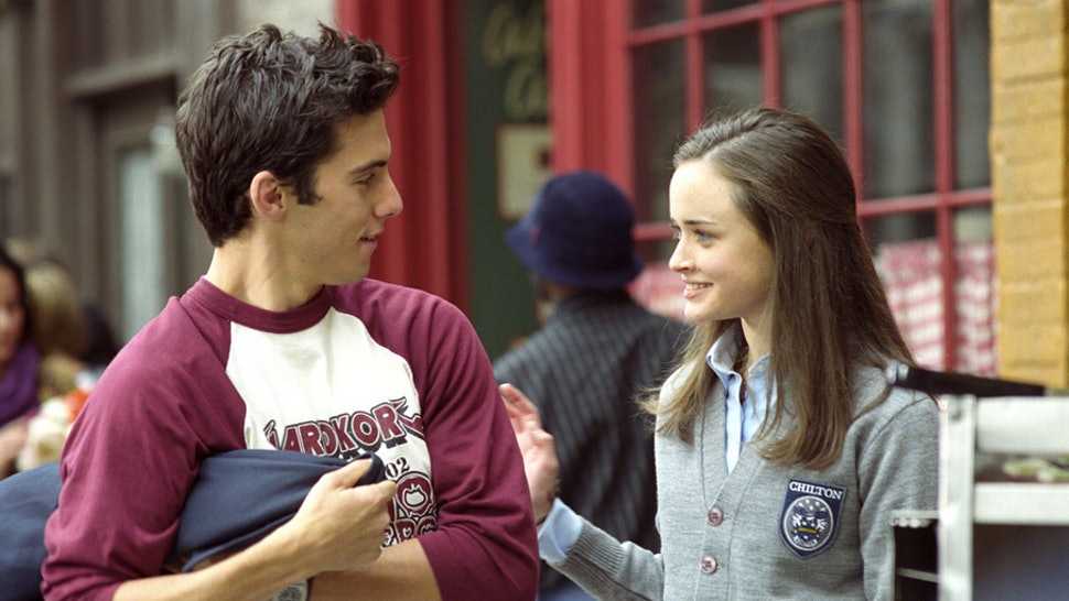 when does rory start dating jess