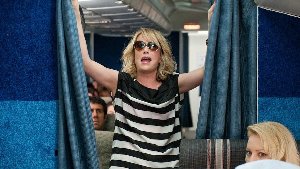 migraine when landing plane