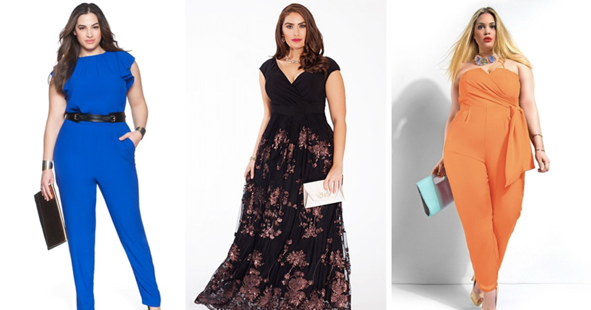 23 Plus Size Wedding Guest Outfits To Dazzle In Whether You Have One
