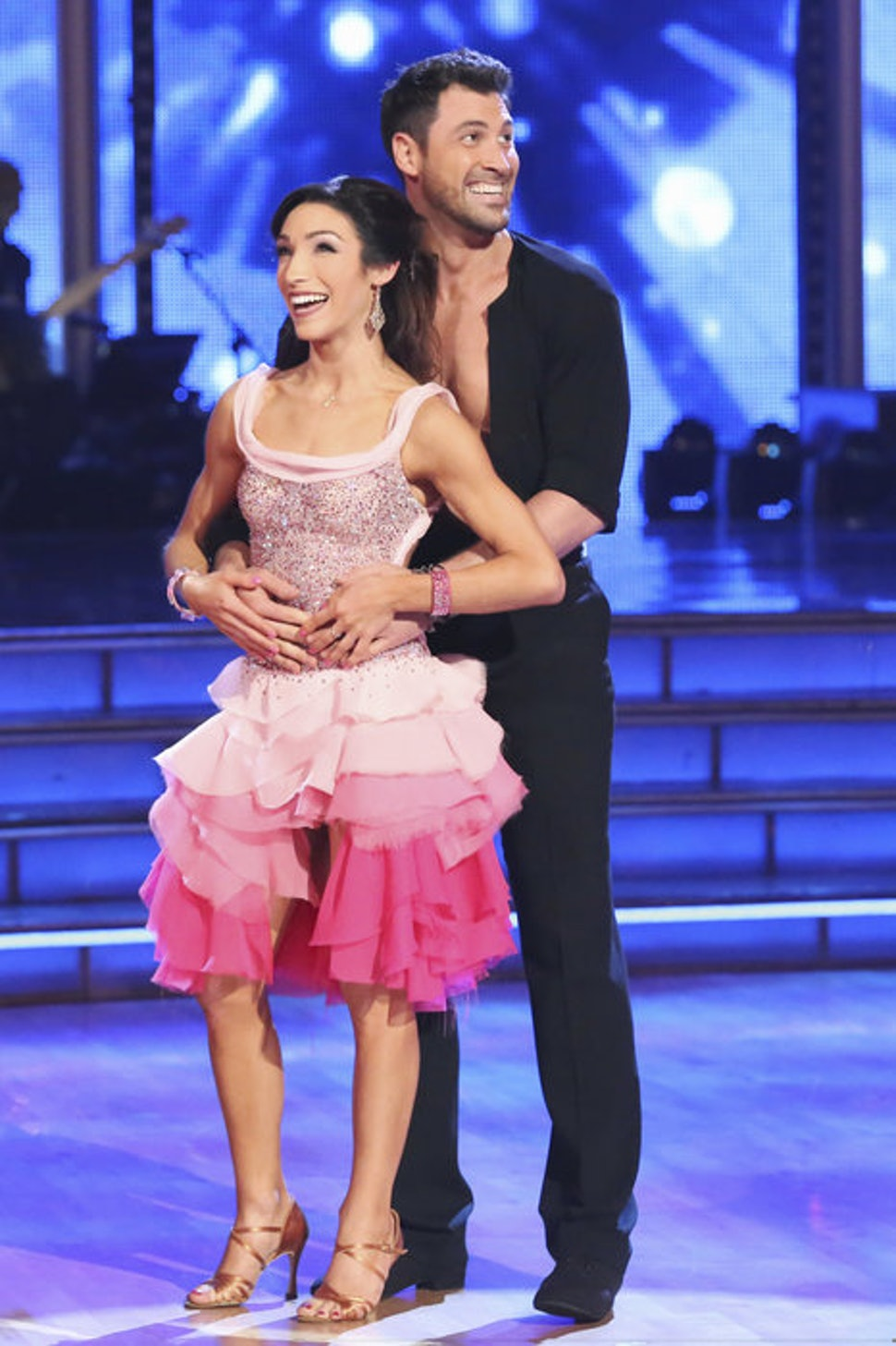 Maksim Chmerkovskiy Meryl Davis Declare We Re Not: 'Dancing With The Stars' Meryl Davis & Maksim Chmerkovskiy