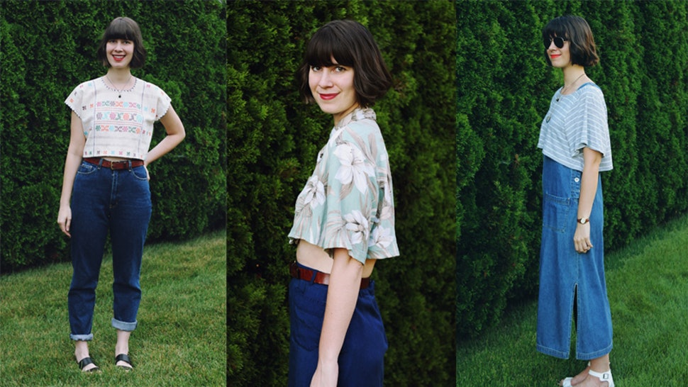 83c414373fd793 7 Ways To Style Crop Tops Because The Cutest Summer Look Is Also The  Trickiest