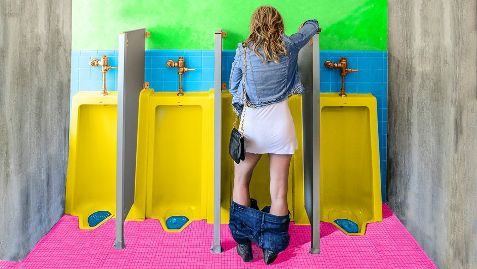 The Stand Up Device Lets Women Pee Standing Up Like Guys, In Case You  Wanted to Do That