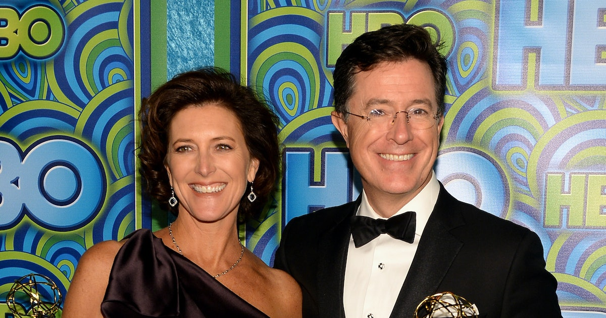 Who Is Stephen Colbert S Wife Let S Meet This Incredible Lady