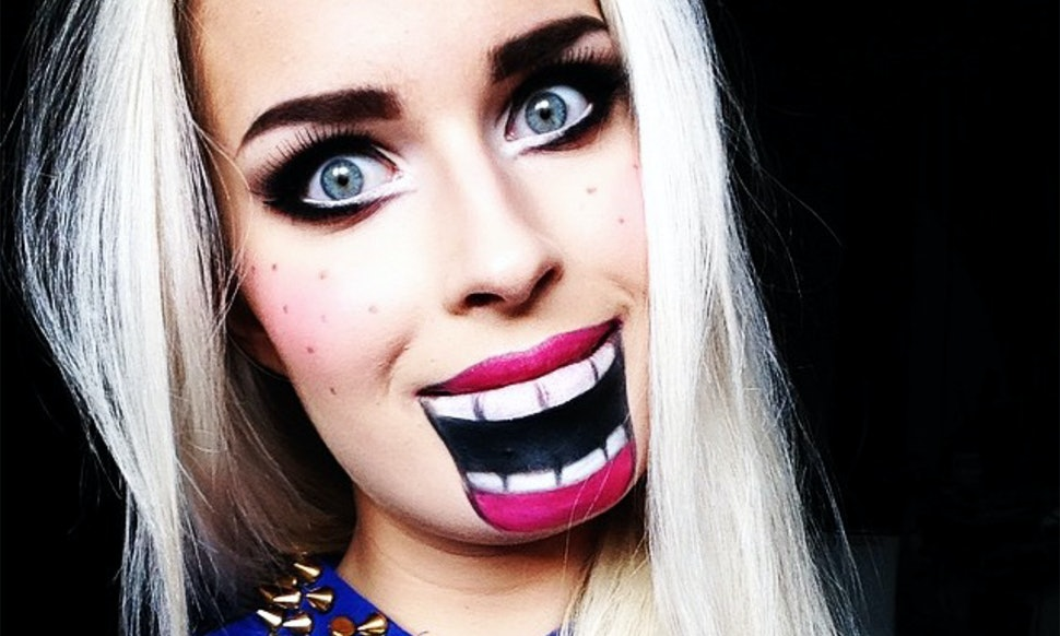 12 creative halloween makeup ideas even non beauty vloggers can pull off