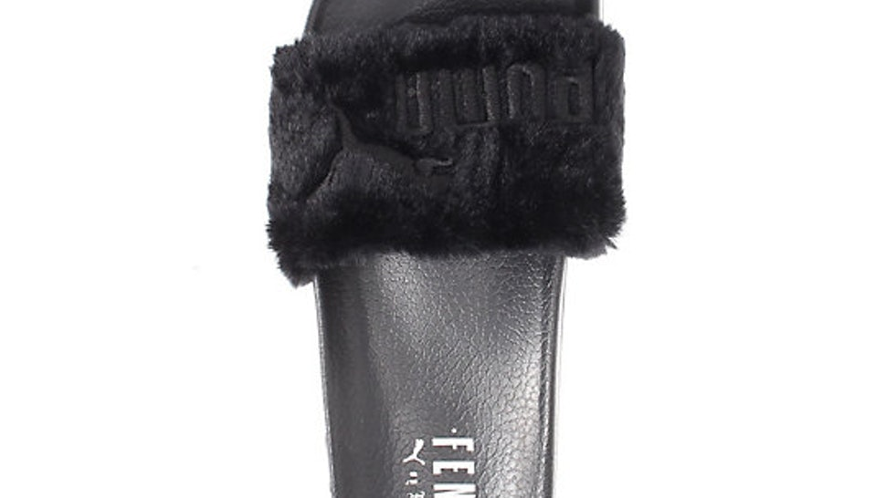 51f1d9954d84 What Size Rihanna Puma Fur Slides Should You Buy  Here s A Key Tip
