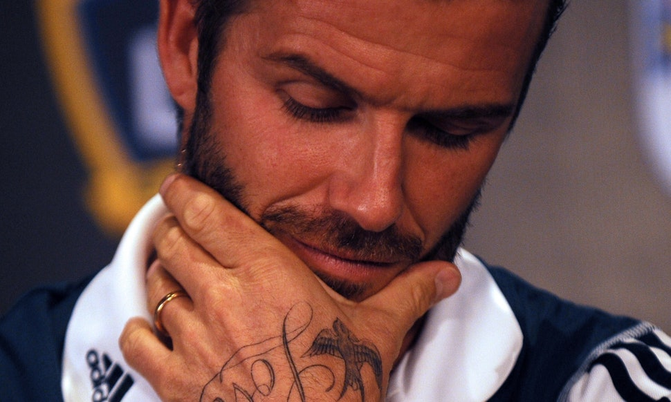 How Many Tattoos Does David Beckham Have The Man Has A Ton Of Ink