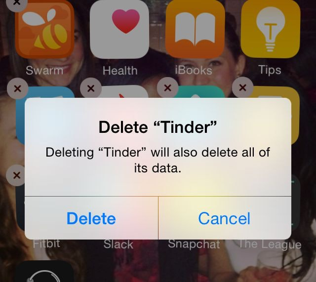 How to delete forth one hookup